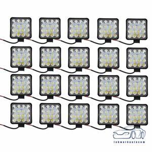 LED Work Light 20X 48W 12V Flood Light Off Road Driving SUV Boat Tractor /Spot