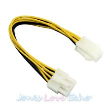 New ATX 4 Pin to 8 Pin Female to Male Adapter EPS Power Supply Cable Adapte