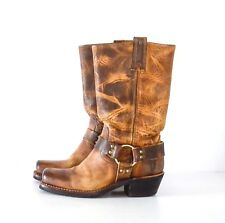 Fryes Women Harness 12R Boots - Dark Brown Old Town Size 6.5M