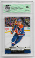 Connor McDavid 2015-16 Upper Deck Collection #CM-24 Rookie Card PGI 10 Oilers