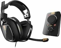 Astro Gaming A40 Wired Headset + MixAmp Pro TR for PS4 & PC, Black (939-001511)