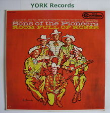 SONS OF THE PIONEERS - Room Full Of Roses - Ex Con LP Record RCA Camden CAL 587