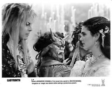 Labyrinth print  :  David Bowie, Jennifer Connelly : reproduction photo print 9