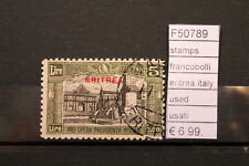 FRANCOBOLLI STAMPS ERITREA ITALY USED (F50789)