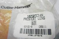 5 NEW CUTLER HAMMER 10250TC14N GLASS GREEN LENS