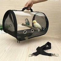 Breathable Bird Dog  Cat Carrier Bag Portable Bird Travel  Cage (big)