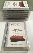 Great Courses 6 parts (of 7) Classics of American Literature, 36 CDs +guidebooks