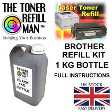 Toner Refill - For Use In The Brother TN3480 Printer Cartridge 1KG REFILL KIT