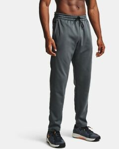 Under Armour Men's Armour Fleece Pants 1357121 XXL 2XL NWT NEW - Pitch Gray
