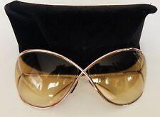 TOM FORD MIRANDA Sunglasses 100% Authentic  Oversized Retail $415