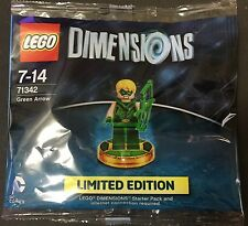 Lego dimensions Green Arrow Limited Edition 71342 platform independent NEW