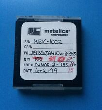 MBIC-1002 METELICS CAPACITOR CHIP RF MICROWAVE 15/units