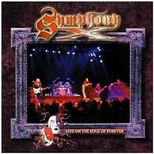 SYMPHONY X  - LIVE ON THE EDGE OF FOREVER  CD