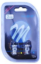 2 AMPOULES 4 LED BLANC T10 W5W SMD 3528 DODGE NEON