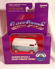 Johnny Lightning Classic Customs VW Volkswagen Van teal/white MIB  1st JL VW VAN