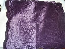 NEW McLeland Design King purple 3 Piece Comforter Bedding Set