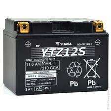 Honda Yuasa YTZ12S 12V High Performance Maintenance Free Motorcycle Battery