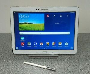 """SAMSUNG GALAXY NOTE 10.1 SM-P605 10.1""""  ANDROID 5.1.1 CRACKED SCREEN 16GB"""