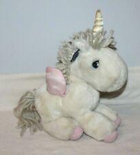 """13"""" Precious Moments Unicorn Plush Toy Butcher 1986 Applause Take Me To Paradise"""