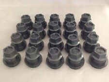 Set of 20 NEW BLACK Wheel Lug Nut Lugnut Cover COVERS CAP BLAZER S10 JIMMY S15