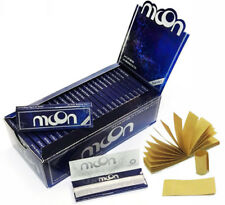 NEW MOON BLUE RICE Rolling Papers 70*36mm 50 Booklets=2500 leaves smoking & Tips