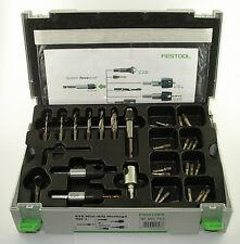Caja mini-sycon puntas atornilladores, puntas, brocas, mini-sysyainer de Festool