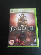Fable 2 II Xbox 360 Adventure Video Game Manual PAL