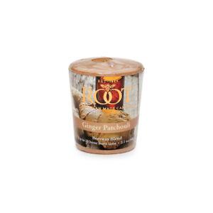 Root 20hr Votive Candles, Ginger Patchouli, Set of 6 (1545)