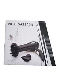 NEW IN BOX VIDAL SASSOON Lightweight Cool Shot Curls Diffuser Dryer