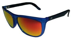 Electric Tonette Sunglasses Deep Sky/ Melanin Grey Fire Chrome Lens ES06546858