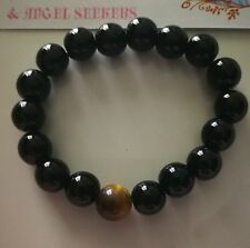 Code 850 HEALING Agate n Tigers Eye Infused Bracelet Archangel Michael Gabriel