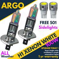 501 + H1 100w Super White Xenon 499 Headlight Bulbs Hid 12v Led W5w Side lights