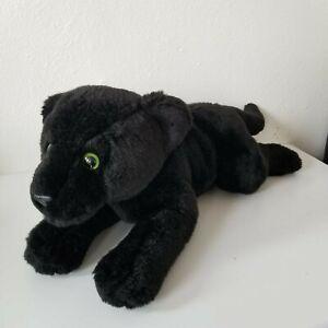 "Toys R' Us Exclusive - Animal Alley 18"" Black Panther Plush Stuffed Animal 2000"