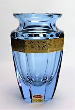 Moser Vase Alexandrite Eternity Czech Crystal Glass