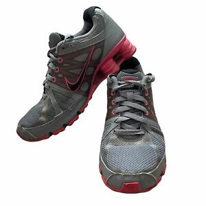 Nike Womens Shox Agent 438683-006 Gray Running Shoes Low Top Lace Up Size 10