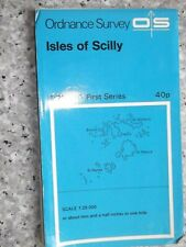 Ordnance Survey First Series Map Isles of Scilly.