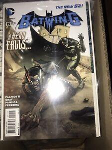 """Batwing 19 1st App Lucius """"Luke"""" Fox"""