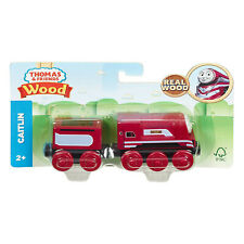 Thomas And Friends Wood Caitlin Train Set NEW