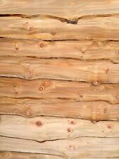 Larch Cladding, Rustic look, Very attractive, Waney edge. Live edge. Douglas fir
