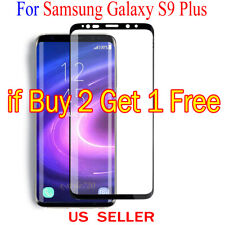 Full Cover Curved Clear Screen Protector Guard Film For Samsung Galaxy S9 Plus