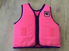 Speedo pink swim vest suit age 3-4
