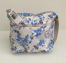 LeSportsac 7562 Small Cleo Crossbody Bag Flower Cluster Khaki NWT