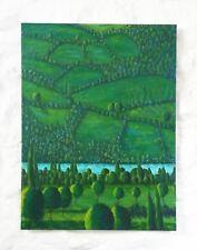"Original Landscape Acrylic Painting Canvas 18""x24"" Contemporary Art"