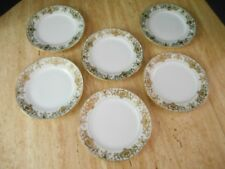 "6 NORITAKE ""CHRISTMAS BALL"" SALAD PLATES 16034"