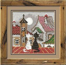 Counted Cross Stitch Kit RIOLIS - CITI & CATS. SPRING