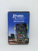 VINTAGE RIVIERA AND TROPICANA LAS VEGAS HOTEL CASINO PLAYING CARDS DECKS SEALED