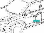 TOYOTA 81730-48020 Side Turn Signal Lamp ASSY RH Genuine LEXUS RX450h 350 270