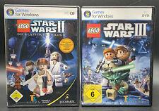 "PC SPIELE "" LEGO STAR WARS II (2) + LEGO STAR WARS III (3)"