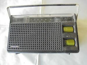 Philips MW-PO Transistor Radio Vintage 1970s Collectable