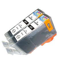 2 PK INK NON-OEM CANON PGI-5BK BLACK IP3300 IP3500 IP4200 IP4300 IP4500 IP5200